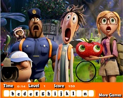 Cloudy With A Chance Of Meatballs 2 Hidden Letters