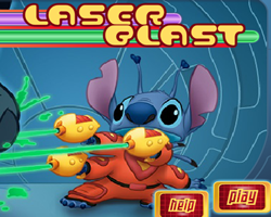 Lilo and Stitch Laser Blast
