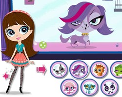 Littlest Pet Shop Dress Up