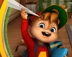 Alvin and Chipmunks Paper Pilot