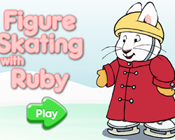 Figure Skating with Ruby