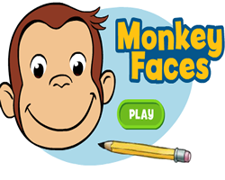 Curious George Monkey Faces