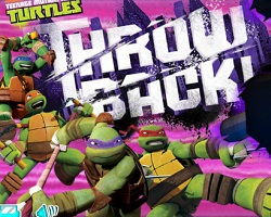Ninja Turtles Throw Back