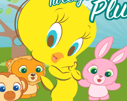 Tweety Pluck a Worm